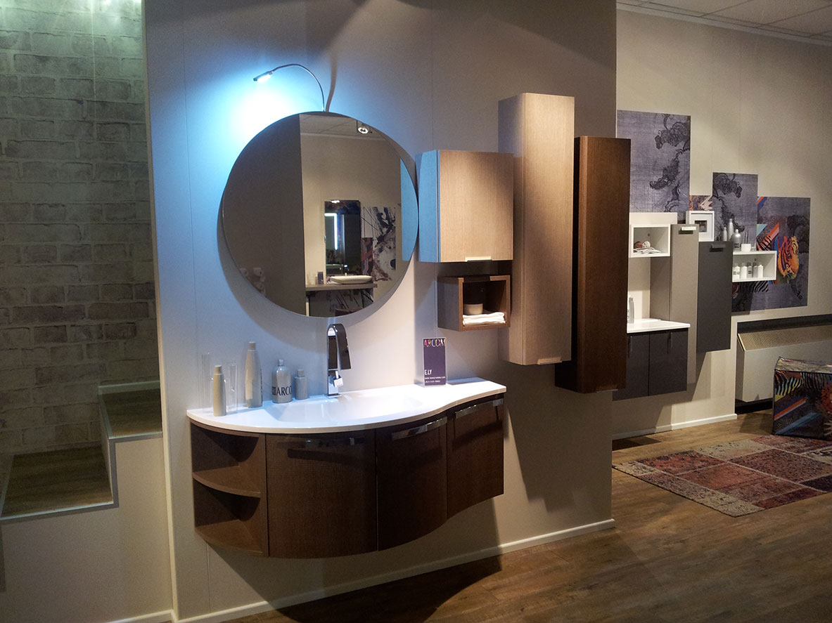 Bagni e cucine mobili da bagno moderni hidrobagno for Mobili moderni